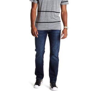 Mavi Zach Straight Leg Jeans in Rinse Williamsburg